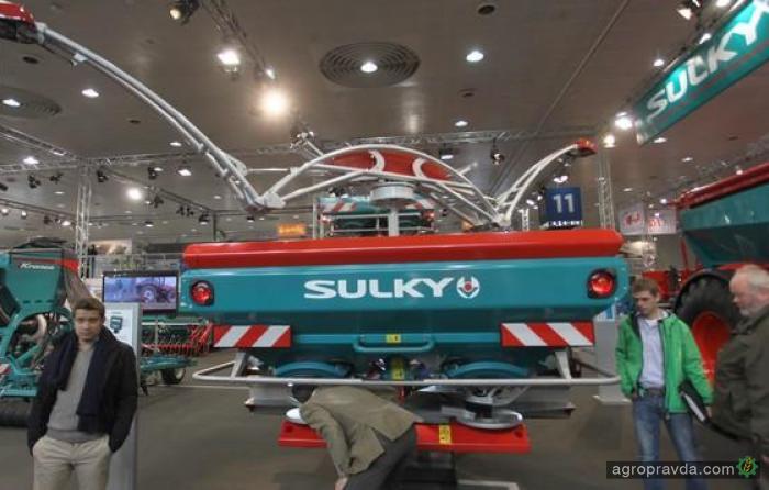 Sulky применила высокие технологии для разбрасывателей удобрений