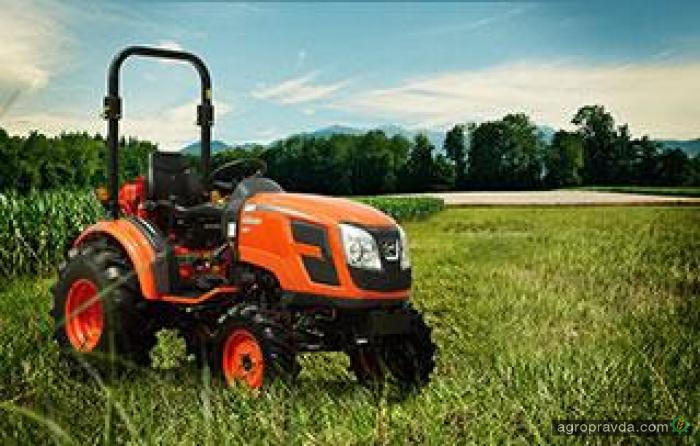 Kioti выводит на рынок новую модель мини-трактора CK2510