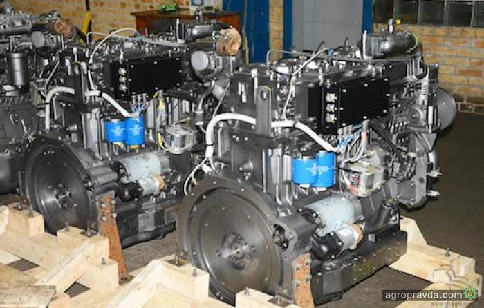 АМЗ разработал уникальный тракторный двигатель
