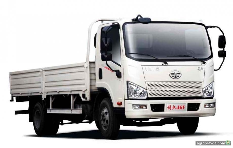 В Украине начали принимать заказы на новый грузовой автомобиль FAW Tiger V