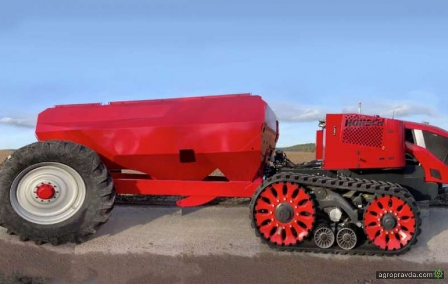 Horsch создал универсальный автономный аграрный тягач