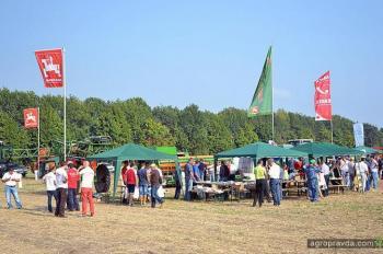 Немецкий аграрный центр представил технику в Украине