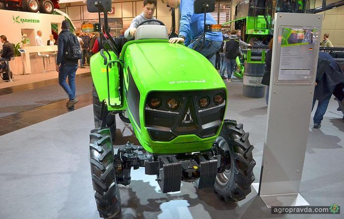 Deutz-Fahr представил серию тракторов для развивающихся стран