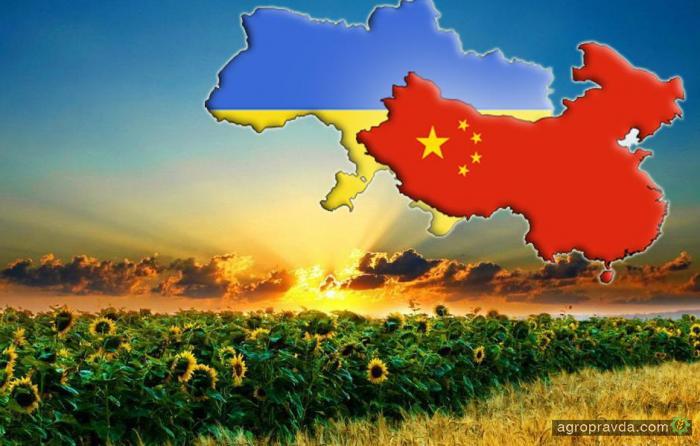 Экспорт украинской агропродукции в Китай превысил 1 млрд долларов