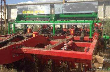 Борона Horsch Tiger обзавелась системой внесения удобрений украинского производства