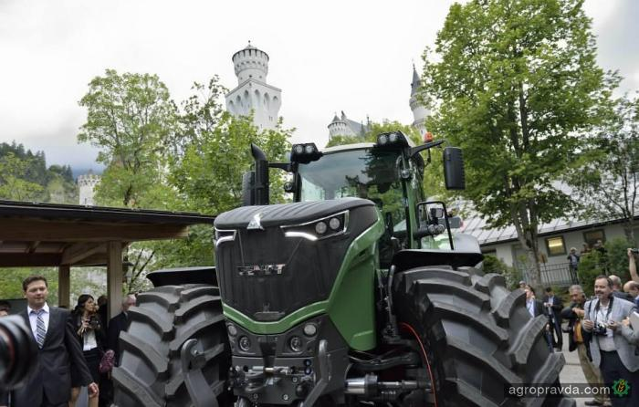 Fendt выведет на рынок Украины самый мощный колесный трактор