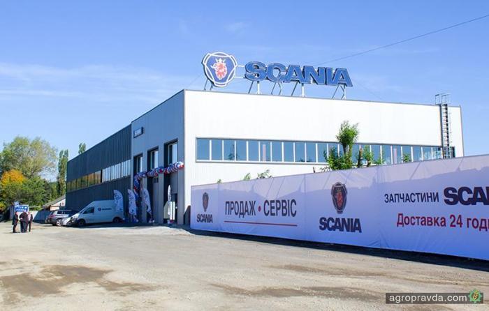 Scania открыла новый сервисный центр в Кировограде