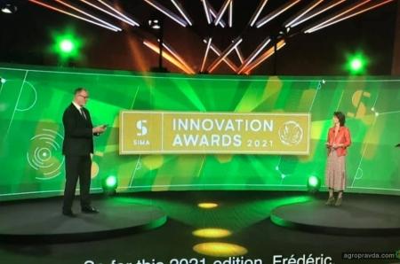 Комбайны New Holland завоевали медали за инновации