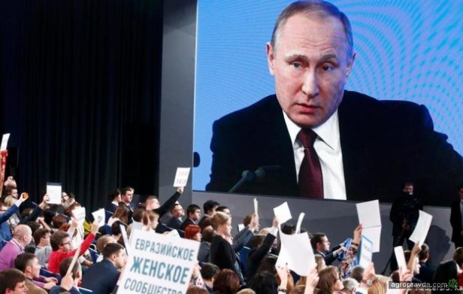 Путин не поддержал земельную реформу в Украине