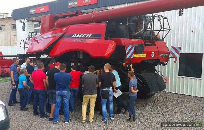 TITAN MACHINERY провел сервисное обучение механизаторов