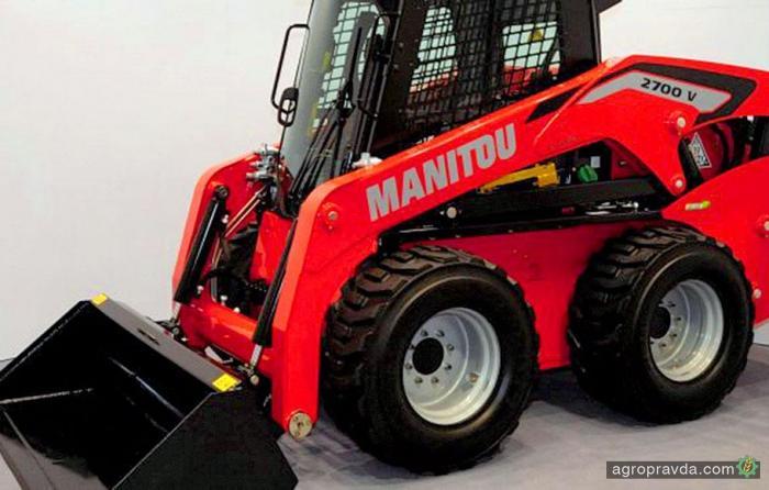 Manitou расширит бренд минипогрузчиками Mustang