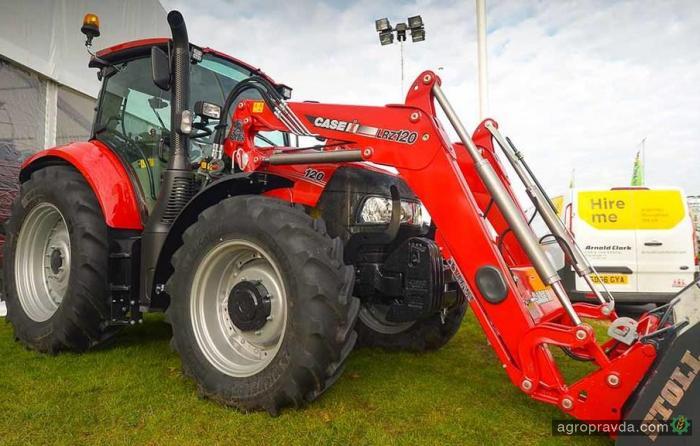 Case IH впервые продемонстрировал новую серию тракторов