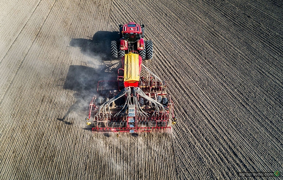 Новий крок високих технологій. Зернова сівалка Spirit із системою SeedEye Väderstad