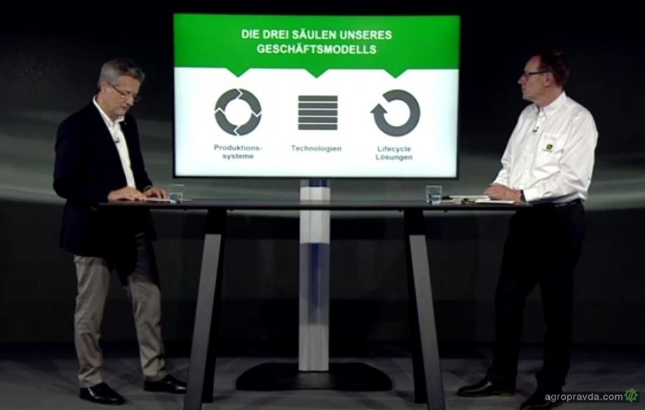 John Deere объявил о реструктуризации