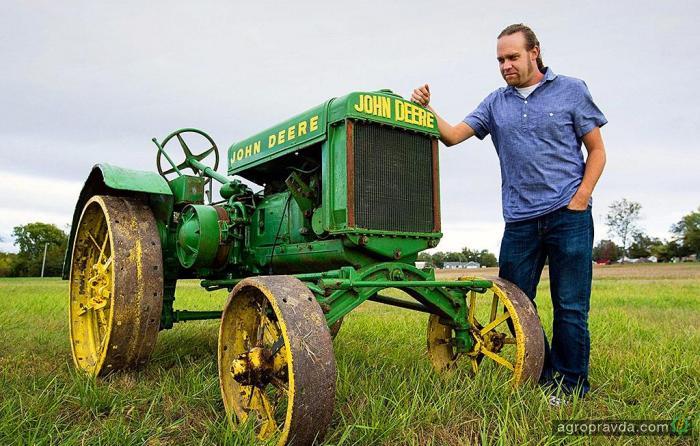 За сколько можно продать 90-летний трактор