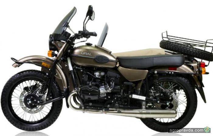 ВСША начались продажи русских мотоциклов сводкой в наборе