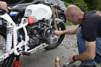 Украинский мотоцикл Днепр превзошел мировой рекорд Harley-Davisdon