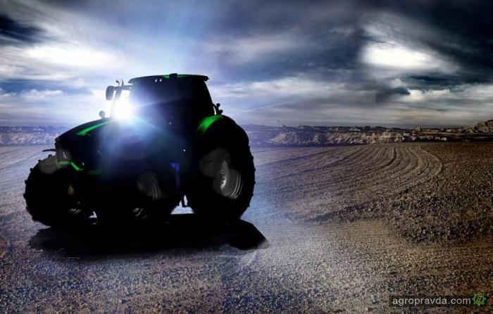 Deutz-Fahr запустил в производство тракторы 9 Series