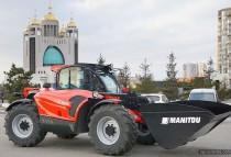 Первый тест-драйв нового поколения Manitou MLT NewAg в Украине. Видео