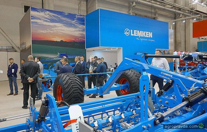 Lemken в Киеве представил все новинки года