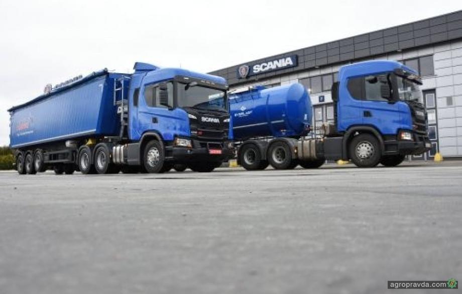 Scania начала сезон поставок техники для аграриев Украины