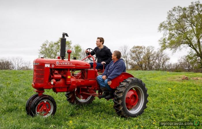 Основатель Фейсбука заинтересовался сельским хозяйством. Фото