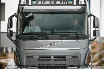 В Украине определили самого экономичного водителя Volvo