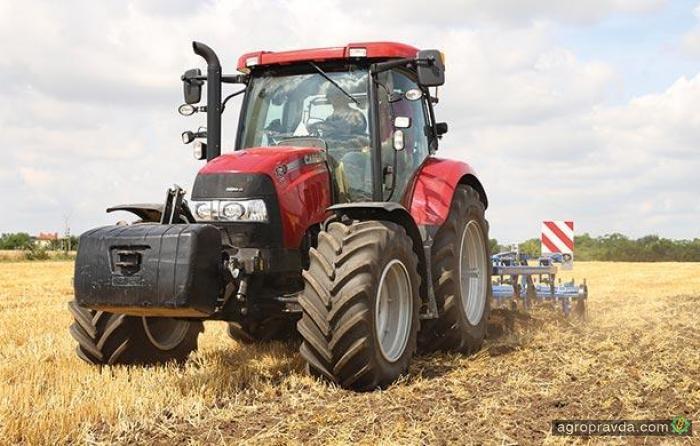 Case IH представил обновлены тракторы серии Maxxum