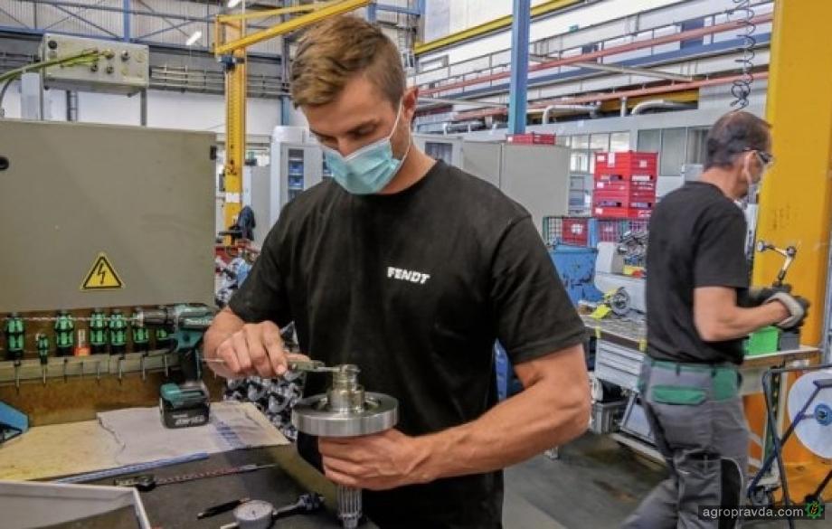 Fendt возобновил производство в Марктобердорфе