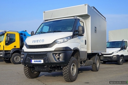 IVECO Daily в Украине получает новые возможности