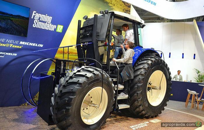 Michelin готовит революцию в сфере сельхозшин