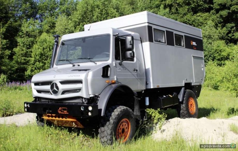 Unimog снова признали лучшим транспортом для села