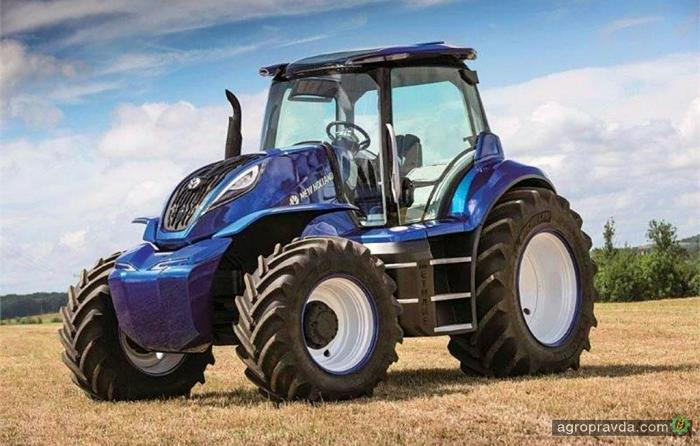 Метановый трактор New Holland получил награду за дизайн