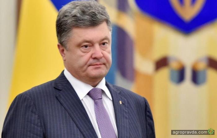 Президент Украины ждет от ВРУ пересмотра налогообложения аграриев