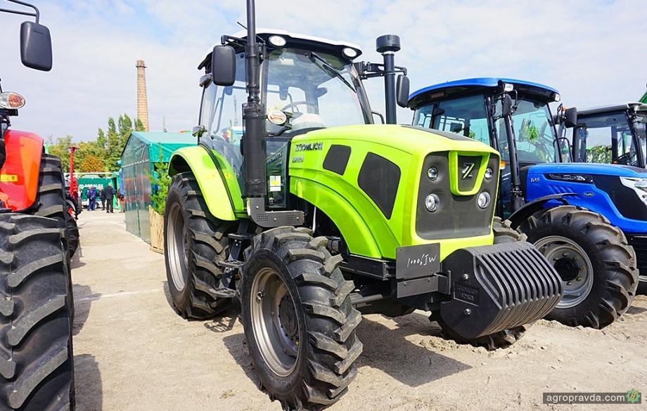 В Украине появились 110-сильные тракторы Zoomlion нового поколения