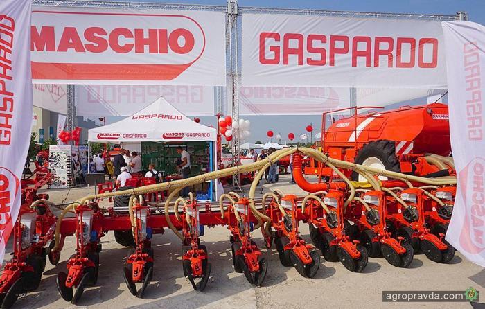 Maschio Gaspardo представила в Украине гигантскую сеялку