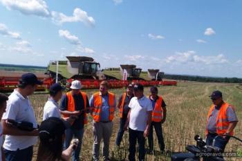 Крупный агрохолдинг приобрел партию «ТОПовых»комбайнов Claas