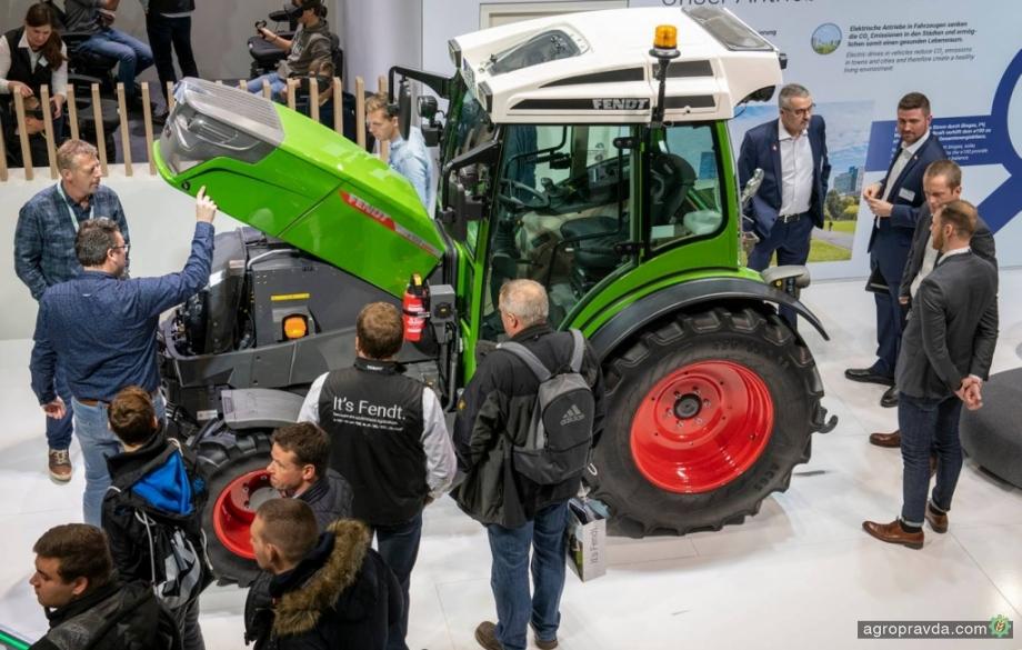 Fendt представил новое поколение электротрактора