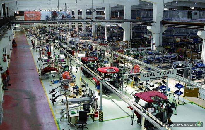 Как производят тракторы Case IH: репортаж с завода