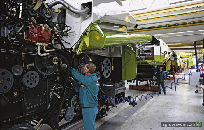 Claas строит крупнейший завод в России
