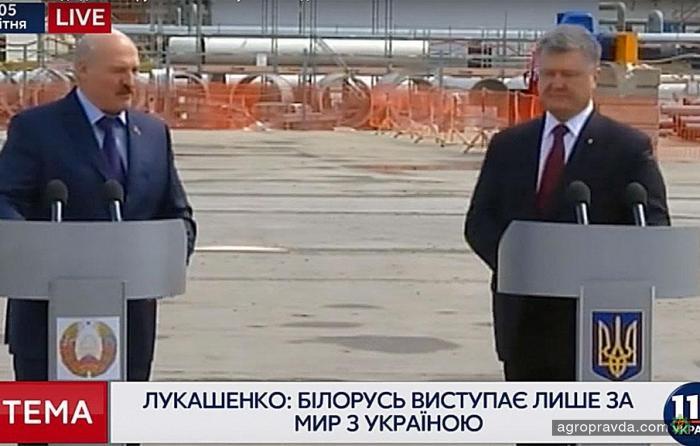 Лукашенко готов приехать на тракторе и помочь пахать Украине. Видео