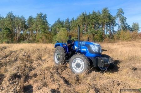 В Украине проходят полевые тест-драйвы индийских тракторов
