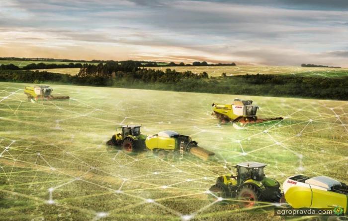 500 комбайнов и тракторов Claas подключат к системе Remote Service