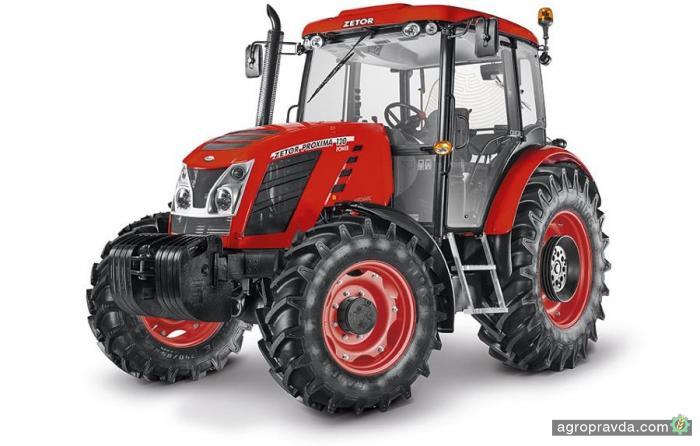Zetor модернизировал всю линейку тракторов