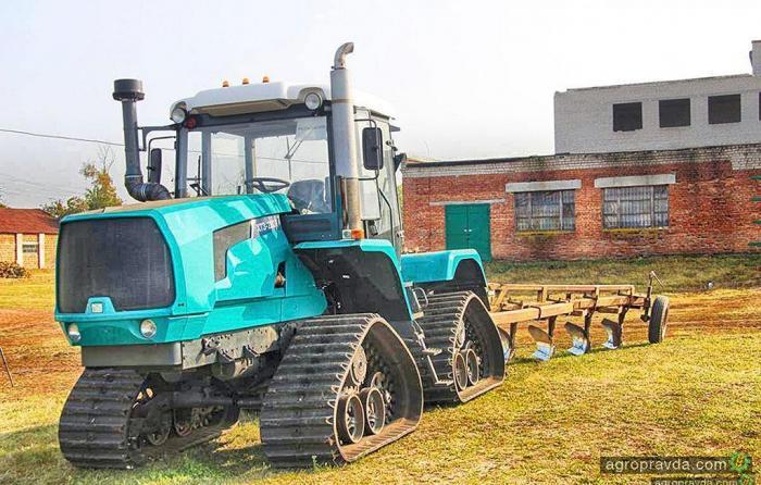 ХТЗ впервые покажет свой 4-гусеничнй трактор