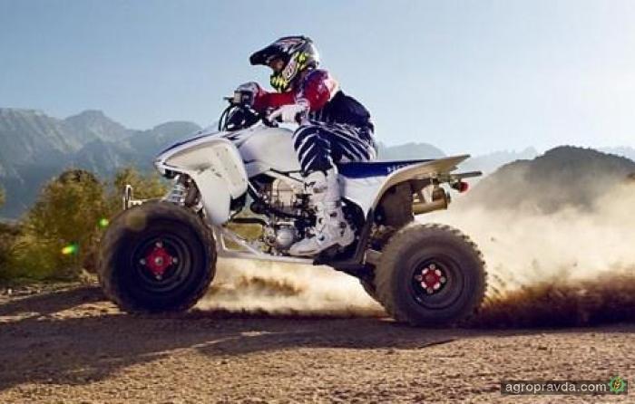 Honda обновила мотовездеход TRX450R