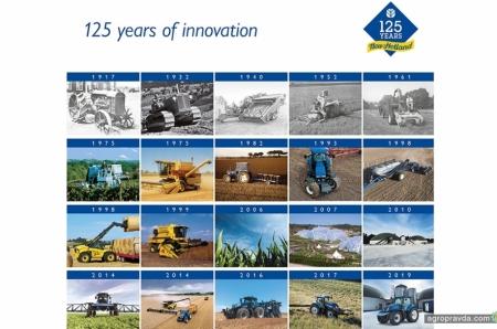 Как развивались тракторы New Holland