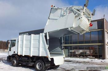 В Украине разработан новый мусоровоз на шасси IVECO