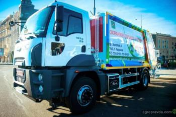 Компания АВТЕК передала Харькову 14 новых мусоровозов Ford Trucks