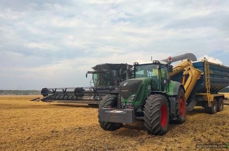 «Астра» показала работу комбайна Ideal на украинских полях
